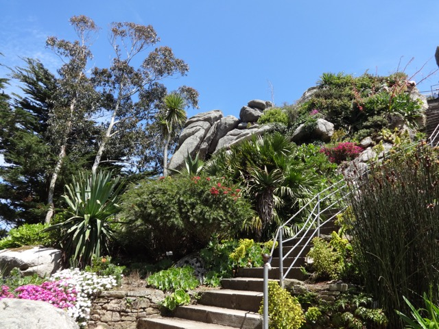 'Jardin exotique' in Roscoe,Brittany
